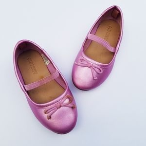 Old Navy Metallic Purple Ballet Flats 6